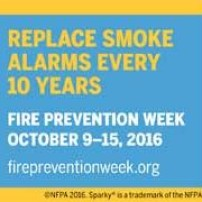 Fire Prevention Week to be held October 9 – 15