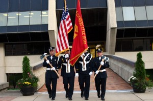 Parkersburg Fire Department Color Guard