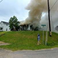 Family of five displaced by fire